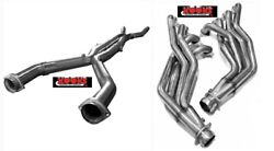 Kooks 2 X 3andprime Long Tube Stainless Headers Offroad X-pipe 09-15 Cadillac Cts-v Lsa