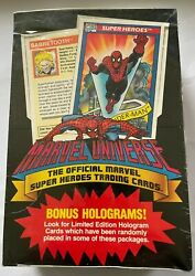1990 Marvel Universe Series 1 Factory Sealed Box