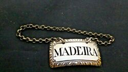 A George Iii Silver Madeira Decanter Wine Label Thomas Harrison