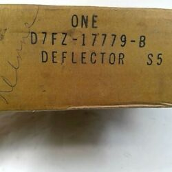 Nos Oem Ford 75 76 77 78 Pinto D7fz-17779-b Front Bumper Stone Deflector