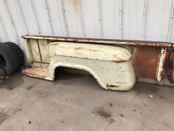55-59 60-66 Chevy Gmc Truck 8andrsquo Bed Stepside Fenders Bedsides Steps Original 1957