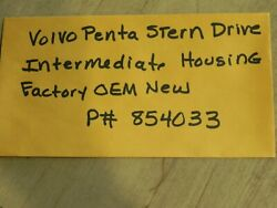 Volvo Penta Stern Drive Intermediate Housing P 854033 Factory Oem New