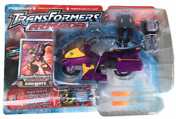 Transformers Armada Supercon Sideways W Crosswise And Rook Action Figures New Mosc