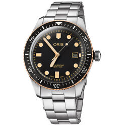 Menand039s Watch Oris Divers Sixty-five New And Original