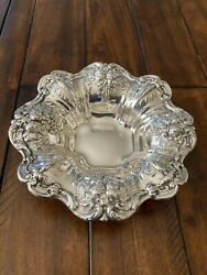 Beautiful Reed And Barton Francis I 1st Sterling 8 Bowl Repousse X569 288 Grams