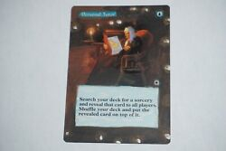 Personal Tutor Altered From Portal X1 Mtg Magic The Gathering
