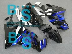 Black Glossy Abs Fairing With Tank Cover Kit Fit Honda Cbr600f2 1991-1994 19 A6