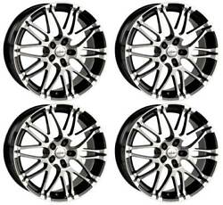 4 Alloy Wheels Oxigin 14 Oxrock 8.5x18 Et50 5x112 Swfp For Seat Altea Leon Toled