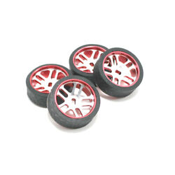 4pcs Rc Car Tires And Wheels For Wltoys K969 K989 K999 P929 Iw04m Awd Iw02 Rm02