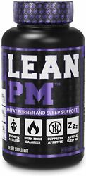 Lean Pm Night Time Fat Burner Sleep Aid Supplement And Appetite Suppressant 60ct