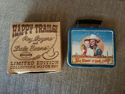Happy Trails Roy Rogers And Dale Evans Limited Edition Watch Set