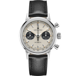 Hamilton American Classic Intra-matic Chrono H Ivory Dial Menand039s Watch H38429710