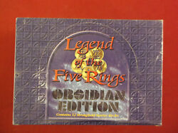 Legend Of The Fives Rings -12 Stronghold Starters Plus Others See Scans Mint