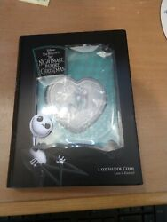 Disney – The Nightmare Before Christmas Love Is Eternal 1oz Silver Coin