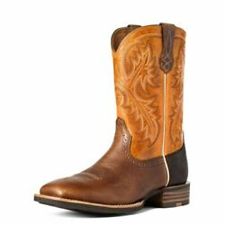 Ariat Quickdraw Pinto Bean Sunrise - Boot Mens Western - 10035998
