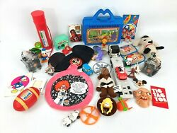 Vintage Toy Lot Includes Many Burger King Kids Club Toys