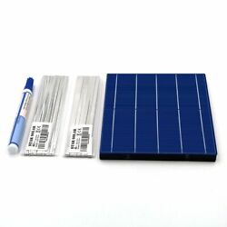 Diy Solar Cell Charger Kit Polycrystalline Panel Tabbing Wire Busbar Flux Pen