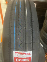 4 New 235/85r16 Turnpike St2500 All Steel Trailer Tire 235 85 16 2358516 14ply G