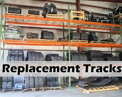 Bobcat T630/t650 Track Loader 18 Replacement Tracks,set Of Two,by Dominion