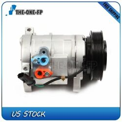 A/c Ac Compressor And Cluth For 2000-2007 Dodge Grand Caravan Chrysler Plymouth