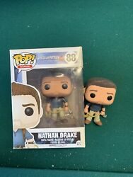 Funko Pop Nathan Drake Uncharted Oob Loose Playstation Bundle With Box Aswell