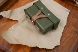 Genuine Chinese Military Sks Stripper Clip Ammo Pouch 7.62 Nos 1958 Hold 40rds