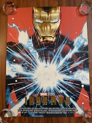 Iron Man Gold Foil Edition Poster Art Doaly Limited Numbered 108/175