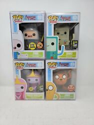 Funko Pop Adventure Time Finn Sdcc Glow In The Dark Signed Lot Will Not Separat