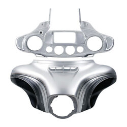 Silver Batwing Outer Inner Fairing Fit For Harley Touring Street Glide 2014-2021