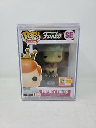 2018 Sdcc Convention Exclusive Freddy Funko Fundays As Yoda 450 Pcs Le Grail