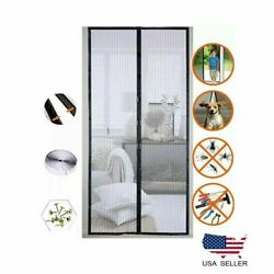 Magnetic Door Net Mosquito Screen Magic Mesh Hands-free Anti Bugs Insect Curtain