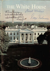 Hubert H. Humphrey - Inscribed Book Page Signed