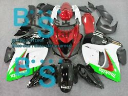 White Red Injection Fairing With Tank For Gsx-r1300 Hayabusa 08-19 29 B6