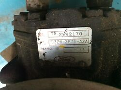 1973 Ford F100 A/c Compressor And Brackets For 302  Oem Used Unknown Condition