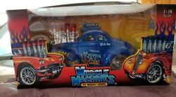 Muscle Machine 1941 Willys Coupe Da Rat Killer 118 Scale Its A Gas Series