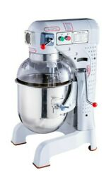 25l 1100w Nsf Commercial Dough Food Mixer 3 Speed For Pizza Bakery And Restaurant