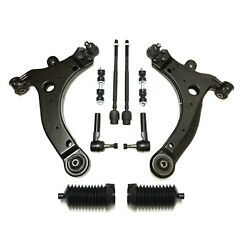 New Front Sway Bars Control Arms Tie Rod Ends 10pc Kit For Buick Century Regal