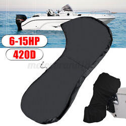 For 6-15hp 420d Outboard Boat Full Motor Engine Cover Waterproof Protection