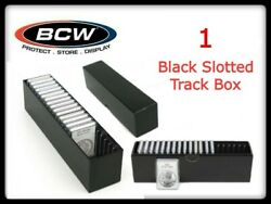 High Quality Bcw Slotted Graded Card Storage Box For 20 Slabs / Small Anacs New