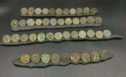 Lot Ancient Antique Bronze Indo Greco Greekand039s Kushan Coins South Asian Trade