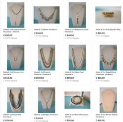 Stella And Dot Lot - Ebay Store Close Out - Updated