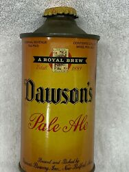1930's Dawsons Irtp Pale Ale Cone Top Beer Can Massachusetts With Cap Amazing