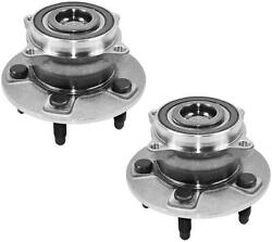 Set Of Rear Wheel Bearing Left And Right Fits Tesla Model S 5yjs Model X 5yjx