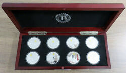 The Heroes Of Pearl Harbor Silver Crown 8 Coin Collection Bradford Exchange