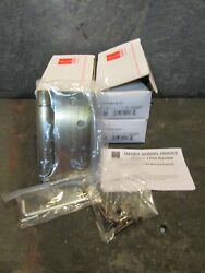 Hager Lot Of 4 Spring Hinges 4 X 4-1/4 Antique Brass Finish Steel Hinge X108
