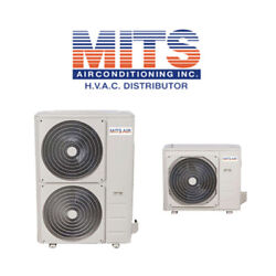Mits Air Up To 20.5 Seer Variable Speed Inverter Central Heat Pump Condensers