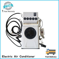 Set Universal Electric Air Conditioner For Mini Bus Truck Pickup 12v / 24v
