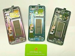 Oem Samsung Galaxy S9   S9 Plus Lcd Replacement Screen Digitizer W/ Frame A+