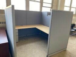 Cubicle/partition System By Steelcase Avenir 7ft X 7ft X 65h