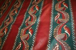 Swag Valance Window Treatments Lined 3 Same Size 1 Different Burgundy Teal B3l